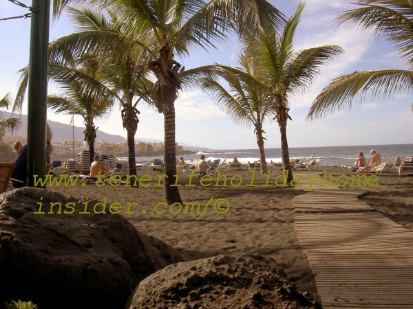 Retire overseas near beach Playa Jardin of Tenerife