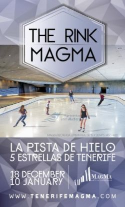 Rink Magma for ice skating at Adeje