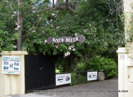 Risco Bello Aquapark of Taoro Tenerife