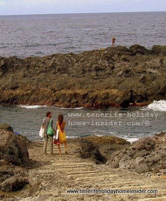 Romantic beach of El Guindaste Los Realejos