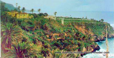 Romantic coastline Rambla Castro