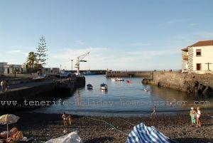 Romantic harbor old port  El Puerto