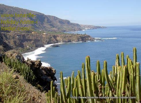 Romantic Rambla below Romantica-1 above steep cliffs with magic views