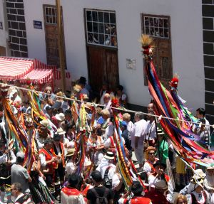 Romeria in Tenerife Los Realejos always on last Sunday in May