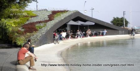 Roof garden Playa de Espana Santa Cruz de Tenerife