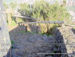 Rough walking path Sendero Corona Realejos