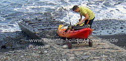 Rubber fishing boat a Dingy at Caleta de Interian by Garachico and a no.3 license, unless the rod is electronically operated.