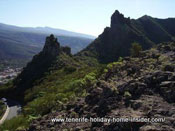 Rugged peaks by Tenerife's oldest coast