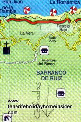 Ruiz Tigaiga aerial map