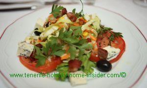 Starter salad a la Richard Etherington