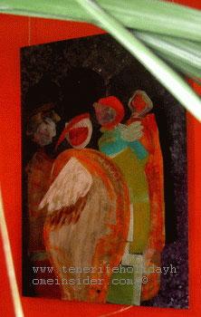 Samot Spain art exhibited in Tenerife
