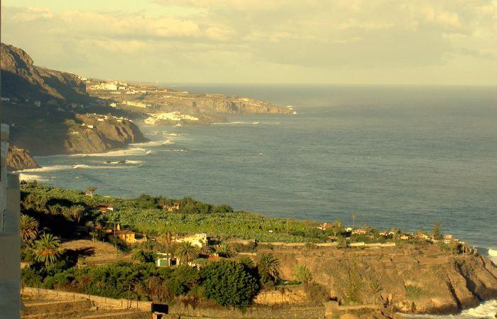 San Juan de la Rambla view from Rambla below La Romantica-1.