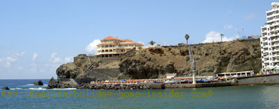 Playa San Marcos beach Aquanaut Club of Icod de Los Vinos of Tenerife Spain