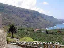 san pedro lookout with coastal road to San Vincente