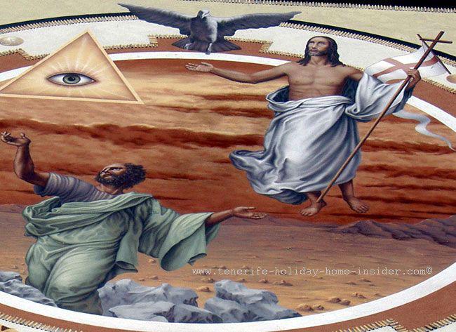 Street art made of sand for Corpus Christi