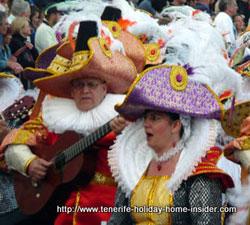 Santa Cruz Carnaval Tenerife Spain