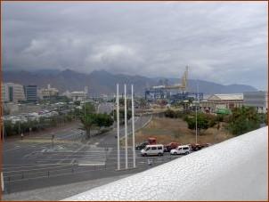 Santa Cruz Port view from the auditorium