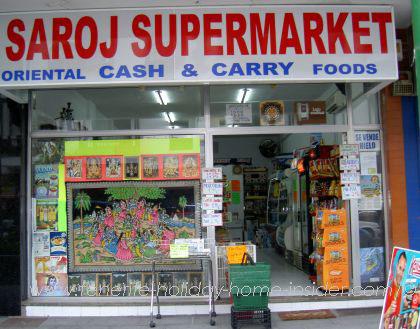 Saroj Supermarket Puerto de la Cruz Tenerife shopfront