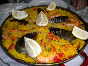 Seafood Paella  of Bar Restaurante El Rubio Tenerife