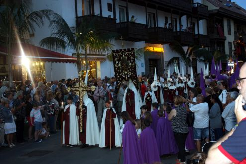 Semana Santa penitence Puerto de la Cruz.