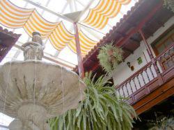 Skylight restaurant La Casona Tenerife
