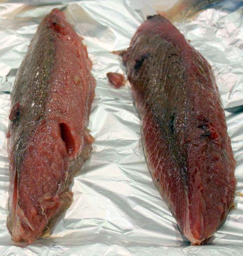 Slices of Bonito fish from Mercadona Sales