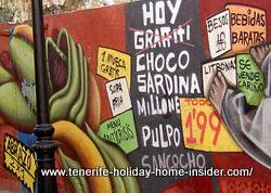 Social awareness by street art Tenerife Spain