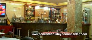 sout hairport bar of San Isidro