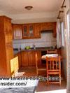 Spacious kitchen modern of timber Tenerife