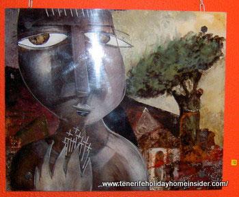 Spain metal wall art painting by Samot Guil Velasquez