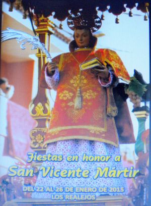 Spain traditions at Tigaiga San Vincente portrayed by a  poster