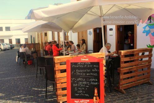 Serving 2 special Lunch menus for Festival del Cuento at Los Silos at economic prices.