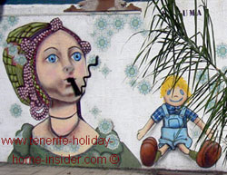 Stop smoking mural  Punta BravaTenerife