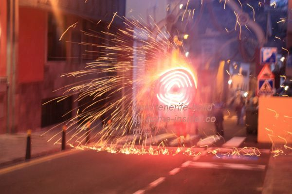 Street art fireworks