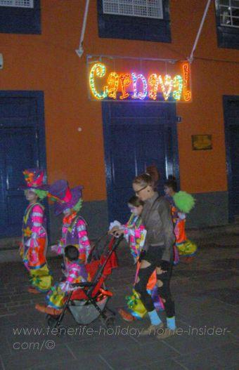 Street of Fiestas Santa Cruz de Tenerife