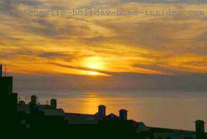 Sun  over La Palma