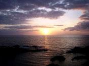 Sundown over La Palma
