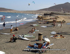 Surf beach el Medano