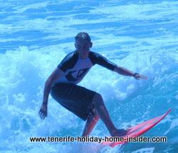 Surfing Costa Adeje