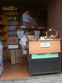 Tabacos Arturo the old shop ofGarachico Tenerife