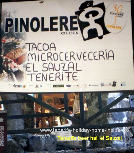 Tacoa Microcerveceria stall 30 at Pinolere craft fair