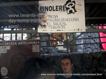 Tacoa stall at the Orotava fair.