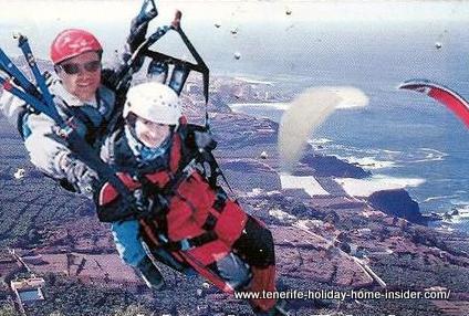 Tandem paragliding Los Silos