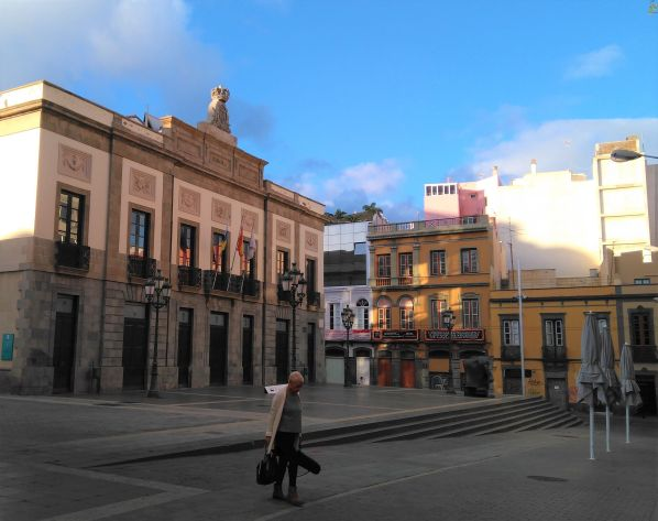 Teatro Guïmerá oldest theatre of the Canary Islands in Santa Cruz