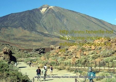 Teide excursions walking by Roques de Garcia