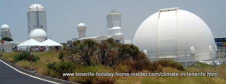 Teide observatory Tenerife