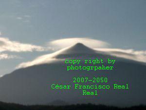 Teide phenomena its aurora