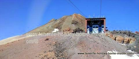 Teide Telerifico Table car station and summit