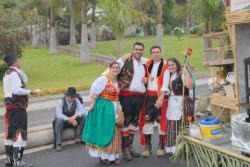 Tenderete musicians Romeria Los Realejos