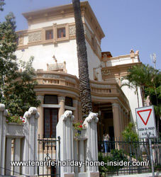Tenerife dental clinic mansion of Liberty style in Santa Cruz